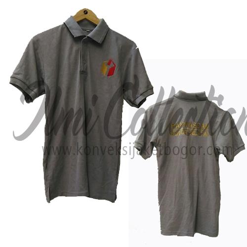 Kaos Polo (lacoste CVC) Panwaslu Bogor selatan